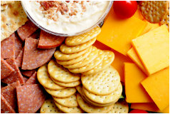 Cheese & Cracker Platter-Gary's Catering
