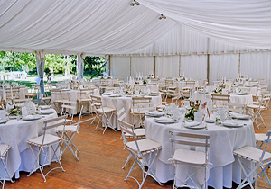 Tent Flooring and Chairs Rentals