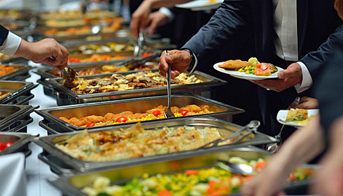Corporate Catering Services Detroit Michigan Mi Office
