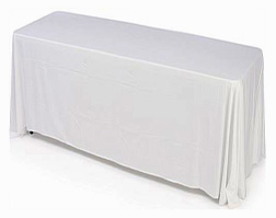 Folding Table with Tablecloth