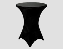 Round Cocktail Table with Spandex